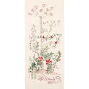 Seasons Panel - Winter Набор для вышивания Derwentwater Designs SP04