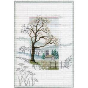 Winter Tree Набор для вышивания Derwentwater Designs MM1