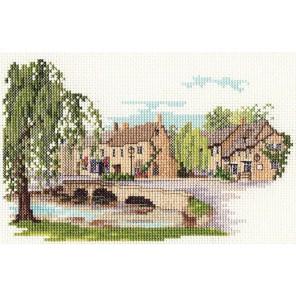 Bourton on the Water Набор для вышивания Derwentwater Designs 14DD226