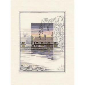 Lily Pond Cottage Набор для вышивания Derwentwater Designs TWL07
