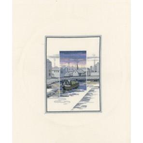 Canal Wharf Набор для вышивания Derwentwater Designs TWL10