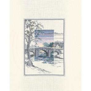 The Old Bridge Набор для вышивания Derwentwater Designs TWL06