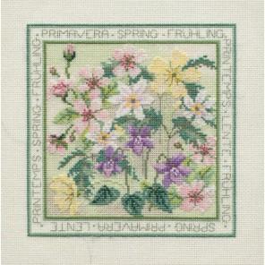 Four Seasons: Spring Набор для вышивания Derwentwater Designs FS01