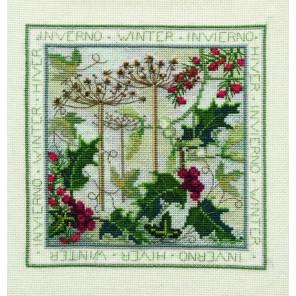 Four Seasons: Winter Набор для вышивания Derwentwater Designs FS04