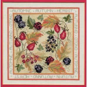 Four Seasons: Autumn Набор для вышивания Derwentwater Designs FS03