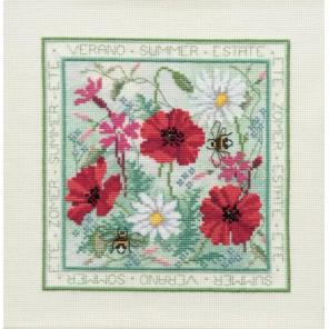 Four Seasons: Summer Набор для вышивания Derwentwater Designs FS02