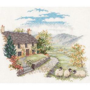 High Hill Farm Набор для вышивания Derwentwater Designs CON03