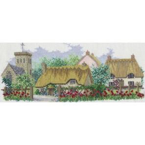 Poppyfield Lane Набор для вышивания Derwentwater Designs LAN01