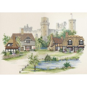Warwickshire Village Набор для вышивания Derwentwater Designs 14VE21