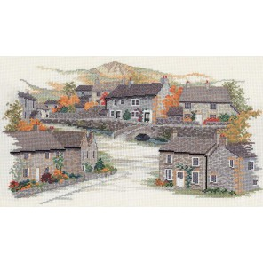 Derbyshire Village Набор для вышивания Derwentwater Designs 14VE18