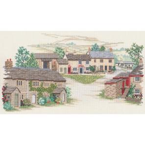 Yorkshire Village Набор для вышивания Derwentwater Designs 14VE16