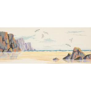 The Beach Набор для вышивания Derwentwater Designs STR1