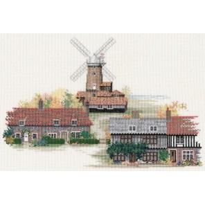 Norfolk Village Набор для вышивания Derwentwater Designs 14VE07