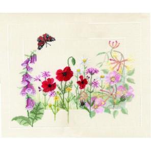 Summer Wild Flowers Набор для вышивания Derwentwater Designs FP05