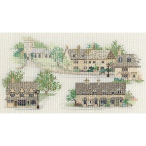 Cotswold Village Набор для вышивания Derwentwater Designs 14VE04