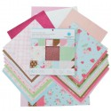 Винтажная Набор бумаги для скрапбукинга, кардмейкинга Марта Стюарт Martha Stewart Crafts