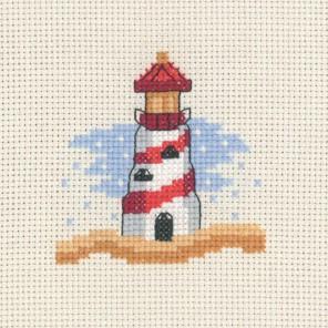 Красный маяк Набор для вышивания Permin 14-3130