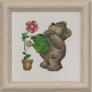 Медвежонок Набор для вышивания Permin 13-3356