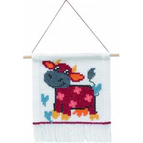 Корова Набор для вышивания Permin 13-4345