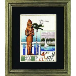 Египет Набор для вышивания Permin 12-3341