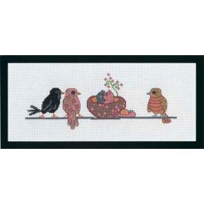 Гнездо Набор для вышивания Permin 92-7349