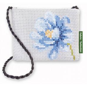 Синий цветок Набор для вышивания Luca-S