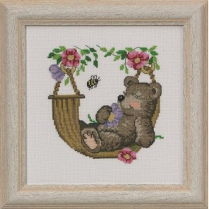 Медвежата Набор для вышивания Permin 13-3354