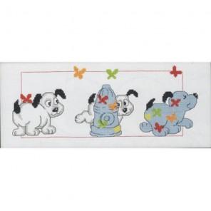 Собачки Набор для вышивания Permin 92-3389