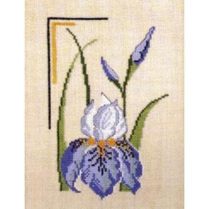 Ирис Набор для вышивания Permin 12-5601