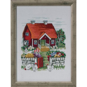 Шведский домик Набор для вышивания Permin 92-3125