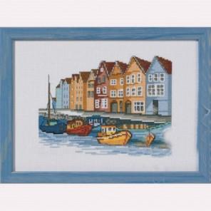 Лодки Набор для вышивания Permin 92-1169