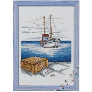 Шхуна Набор для вышивания Permin 92-2308