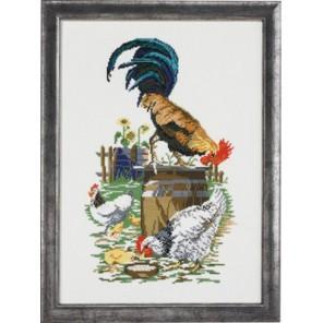 Птицеферма Набор для вышивания Permin 92-4176