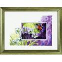 Нарциссы и бабочка Набор для вышивания Permin 12-3195