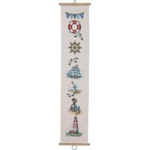 Морские мотивы Набор для вышивания Permin 35-6120