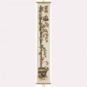 Птицы на дереве Набор для вышивания Permin 35-1367