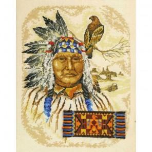 Старый индеец Набор для вышивания Permin 70-4333