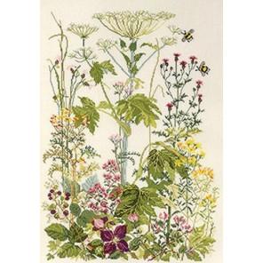 Цветы на обочине Набор для вышивания Permin 90-4153
