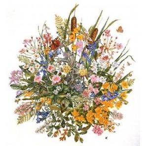 Цветы у воды Набор для вышивания Permin 70-7300