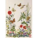 8 бабочек Набор для вышивания Permin