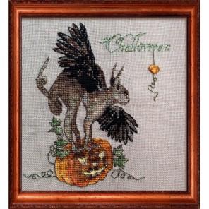 Challoween (Хэллоуин) Набор для вышивки крестом Nimue 143-P011K