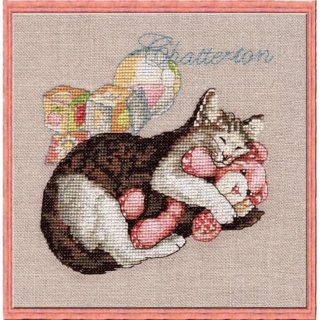 Chatterton (Сладкие сны) Набор для вышивки крестом Nimue 117-P007KA