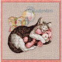Chatterton (Сладкие сны) Набор для вышивки крестом Nimue