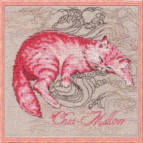 Chat-Mallow (Гламурная кошечка) Набор для вышивания Nimue 116-P006K