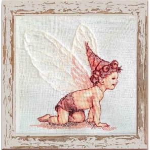 BB Blanc (Белоснежные крылья) Набор для вышивки крестом Nimue 153-A052KA