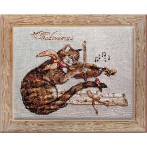 Chadivarius (Музыкант) Набор для вышивки крестом Nimue 119-P009KA
