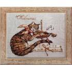 Chadivarius (Музыкант) Набор для вышивки крестом Nimue 119-P009K