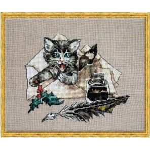 Chat Va? (А вот и я) Набор для вышивки крестом Nimue 115-P005K