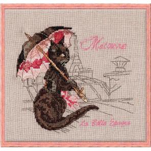 Matouvue (Под зонтом) Набор для вышивки крестом Nimue 118-P008KA
