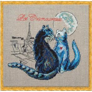 Les Chamoureux (Свидание под луной) Набор для вышивки крестом Nimue 114-P004KA